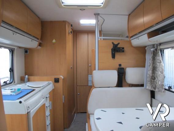 Hymercamp c 594 mansardato 6 posti letto - Letto a castello usato ...