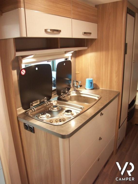 Burstner Premio 495 TK - caravan nuova letti a castello