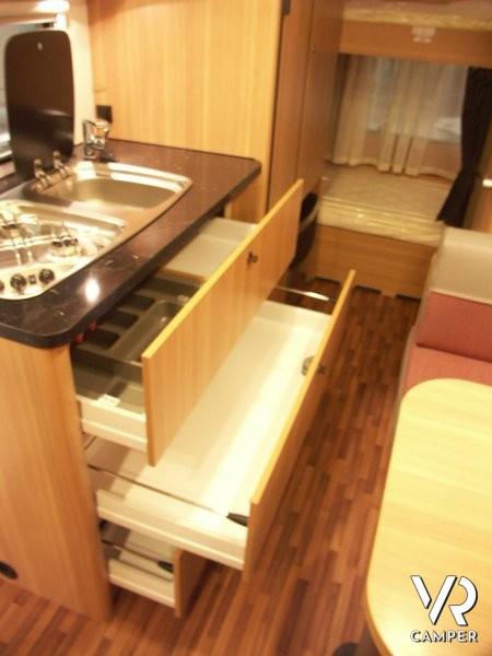 Hymer Eriba Living 525 - caravan nuova Torino