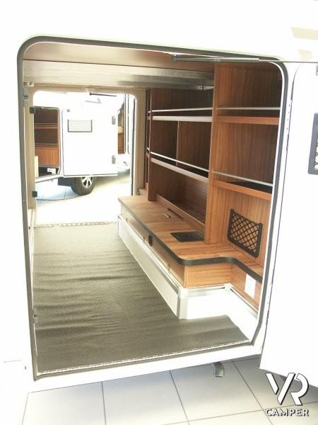 Hymer b 514 camper nuovo con garage for Piani di garage rv con officina