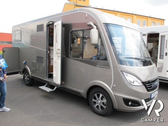 Hymer b 594 dl motorhome con garage for Piani di garage rv con officina