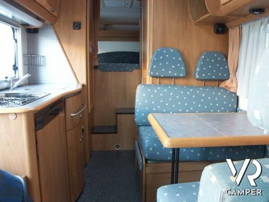 Letto Singolo Usato Torino.Hymer Camp 524 Camper Usato Garage