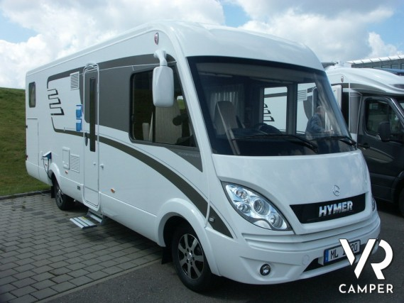 Hymer ml i 620 hymer motorhome mercedes for Piani di garage rv con officina