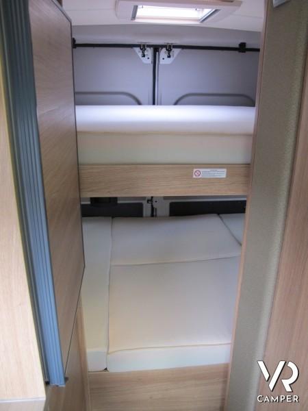 Knaus Boxstar Family 600 - furgonato con letto basculante