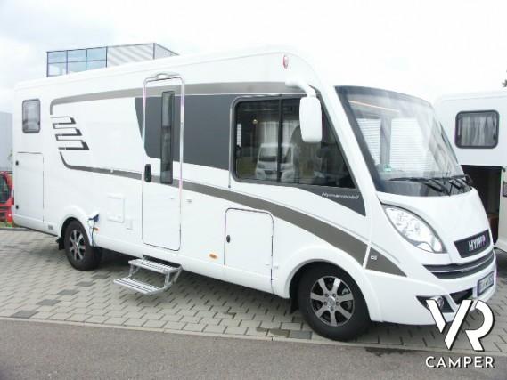 Hymer b 588 premium line motorhome nuovo con garage for Piani di garage rv con officina