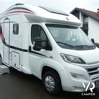 Camper nuovo camper e caravan hymer burstner e carado - Camper 4 posti letto ...