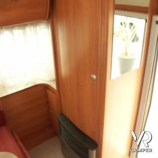 Hymer eriba toll 550 caravan usata 4 posti - Porta a soffietto usata ...