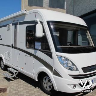 Hymer b 594 pl motorhome con garage for Piani di garage rv staccati