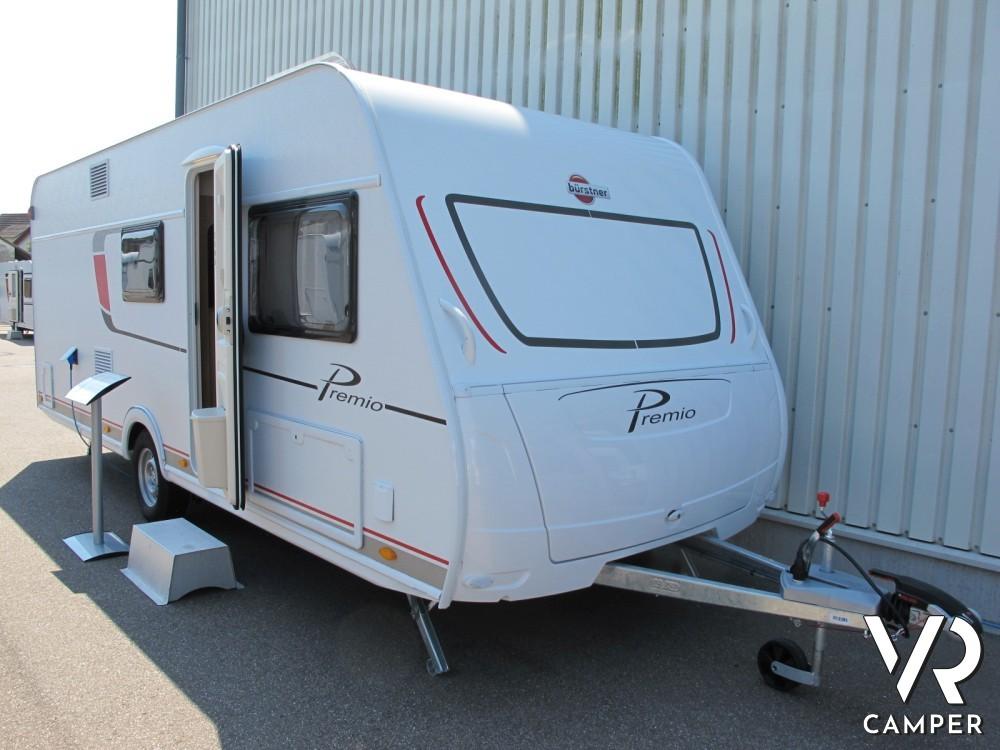 Burstner Premio 530 TK - caravan nuova letti a castello
